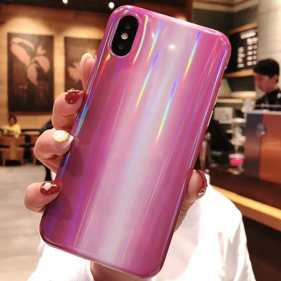 Accessories - NEW iPhone 7/8 Purple Marble Laser Case